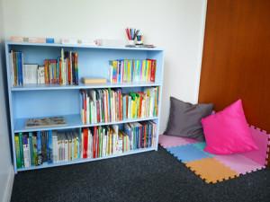 Coin lecture : école Montessori International Bordeaux