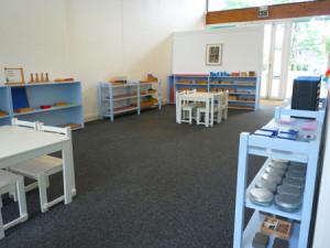 Maternelle côté entrée : école Montessori International Bordeaux