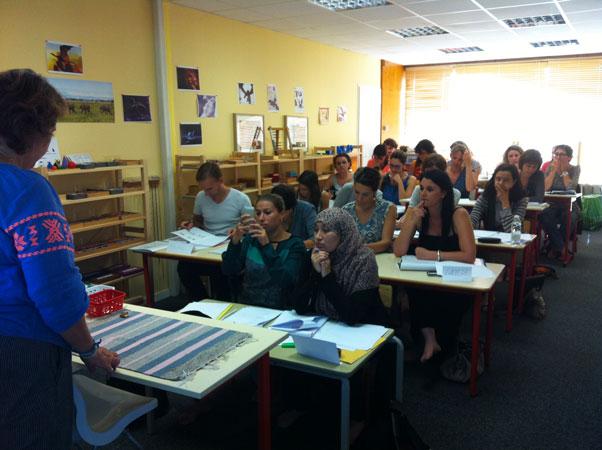 Une belle journée de formation Montessori