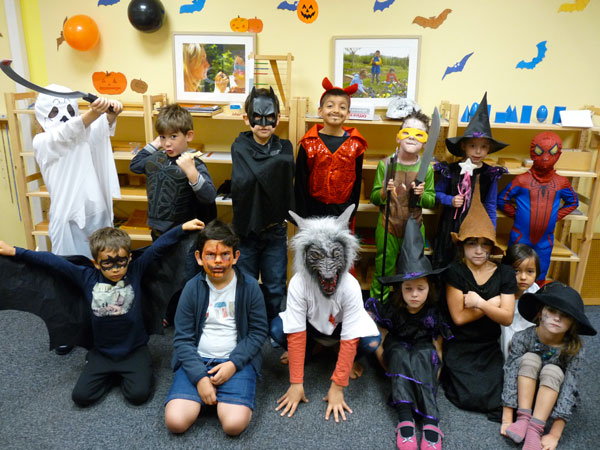 Halloween à l'école Montessori Internationale de Bordeaux