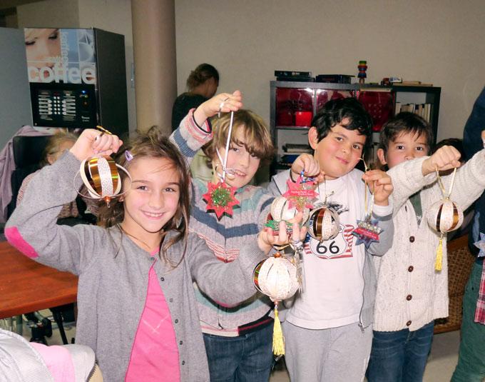 Visite école montessori internationale de Bordeaux dans une maison de retraite