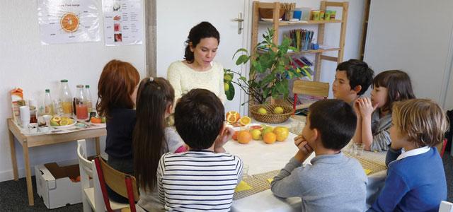 Atelier sensoriel : les agrumes
