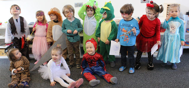 Mardi-gras à l'école Montessori