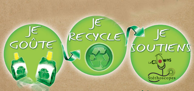 Recyclage gourdes compotes