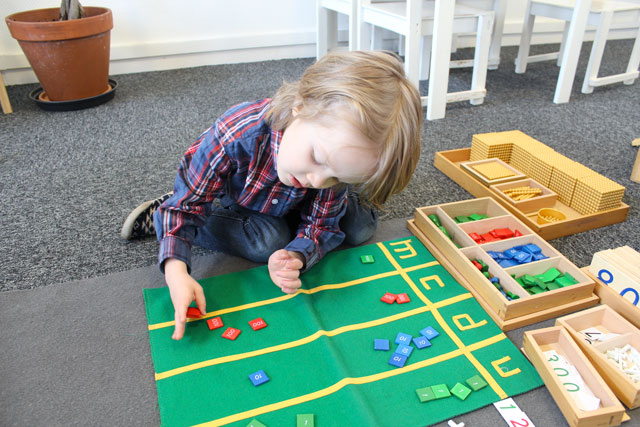 Addition Montessori