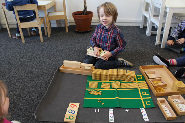 Montessori addition