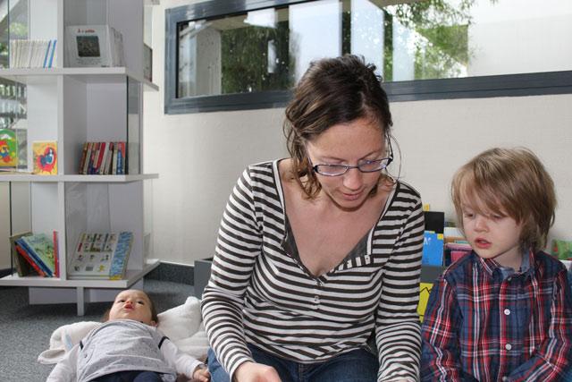 maman élève : école Montessori Internationale de Bordeaux-Gradignan