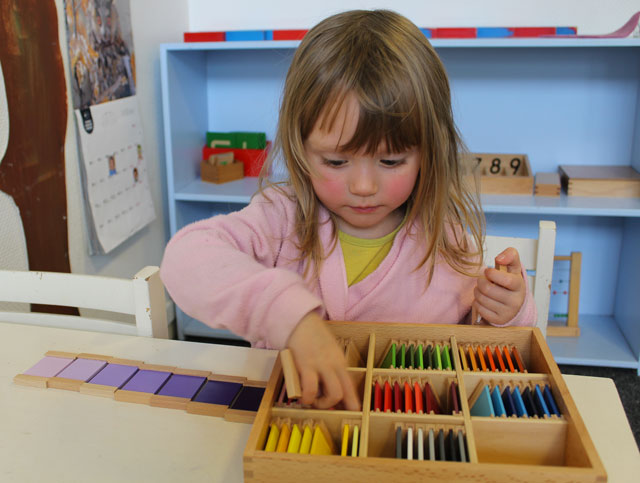 Couleurs Montessori