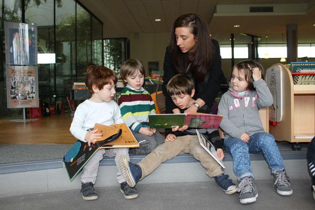 médiathèque maternelles de l'école Montessori Internationale de Bordeaux-Gradignan