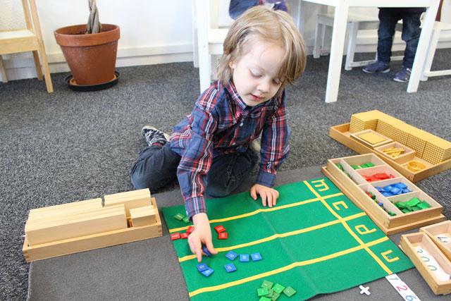 Timbres Montessori