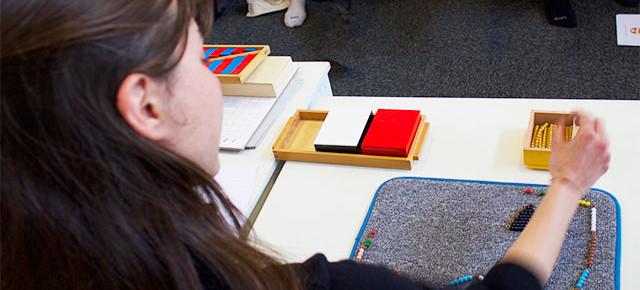 Formation Montessori 3-6 ans : mathématiques
