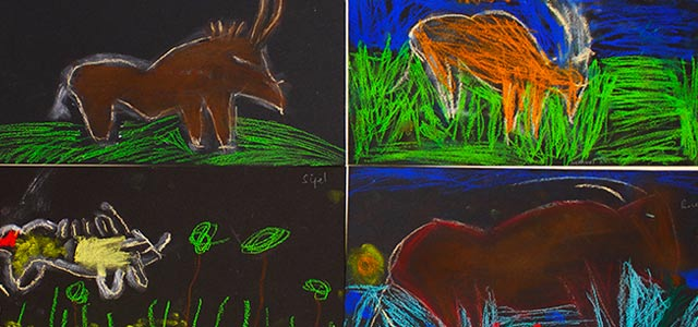 Exposés sur la préhistoire en Montessori