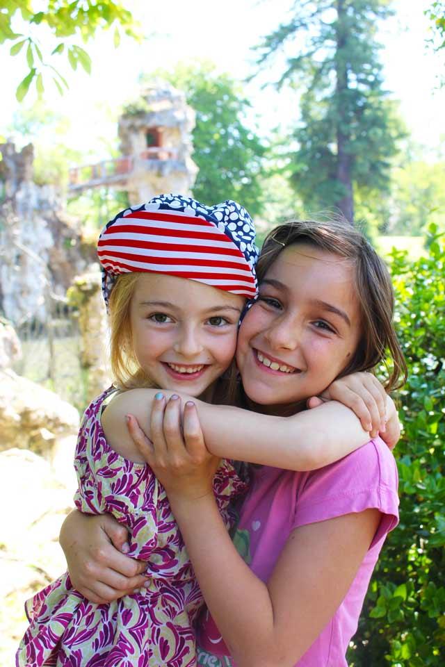 filles - parc Majolan - école Montessori Internationale Bordeaux
