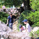 garçons - parc Majolan - école Montessori Internationale Bordeaux
