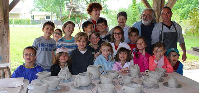 Sortie Montessori : initiation poterie