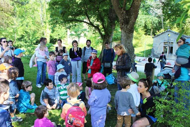 Sortie : parc Majolan - école Montessori Internationale Bordeaux