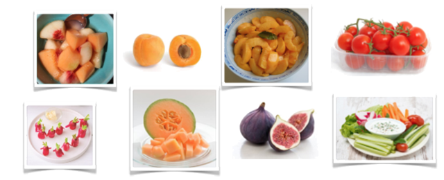 Snack Montessori : mois de juin