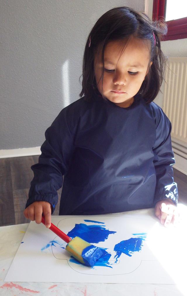 peinture montessori
