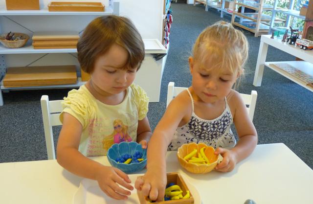 activite tri montessori
