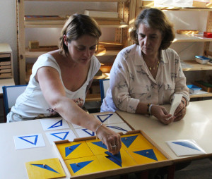 formation montessori 3-6 cabinet geometrique