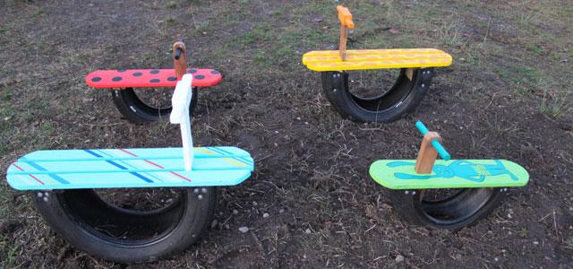 Superbes jeux pour la cour de récréation Montessori