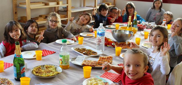 Fête de fin d'année à l'école Montessori