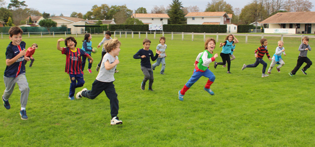 Sport à l'école Montessori Internationale de Bordeaux-Gradignan