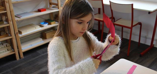 Rentrée janvier 2016 à l'école Montessori