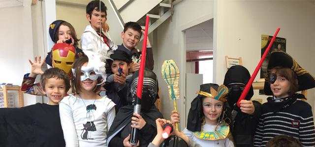 Mardi-gras à l'école Montessori #février2016