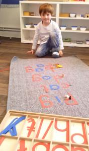 atelier montessori anglais mercredi 5
