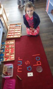 montessori international bordeaux écriture