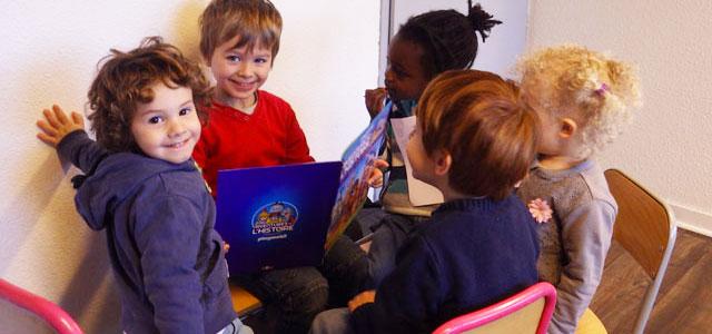 Des enfants heureux à l'école Montessori #mars2016