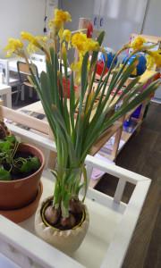 table nature printemps montessori