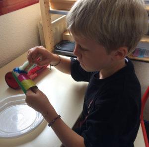activité manuelle montessori 9