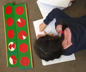 montessori 6 12 fractions