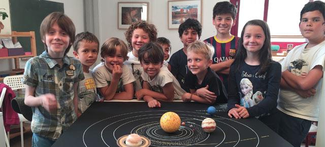 Des expériences de physique en Montessori #5