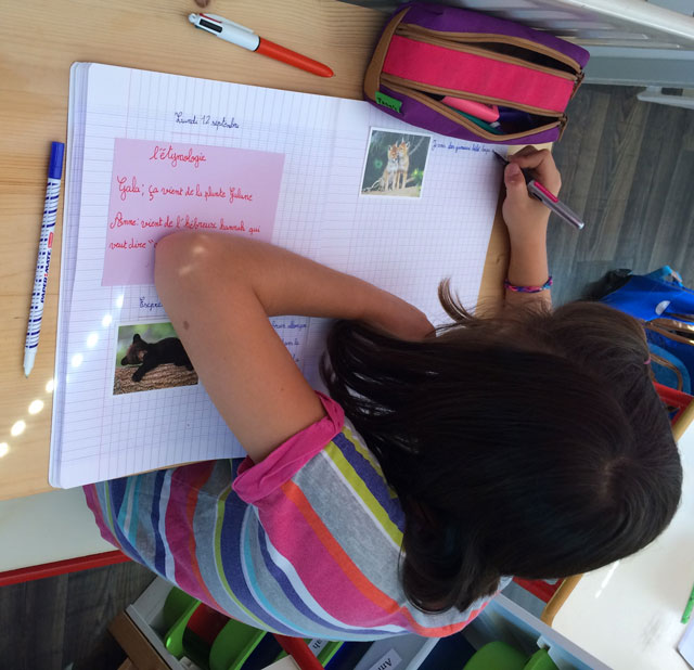 montessori international bordeaux primaire college expression écrite 1