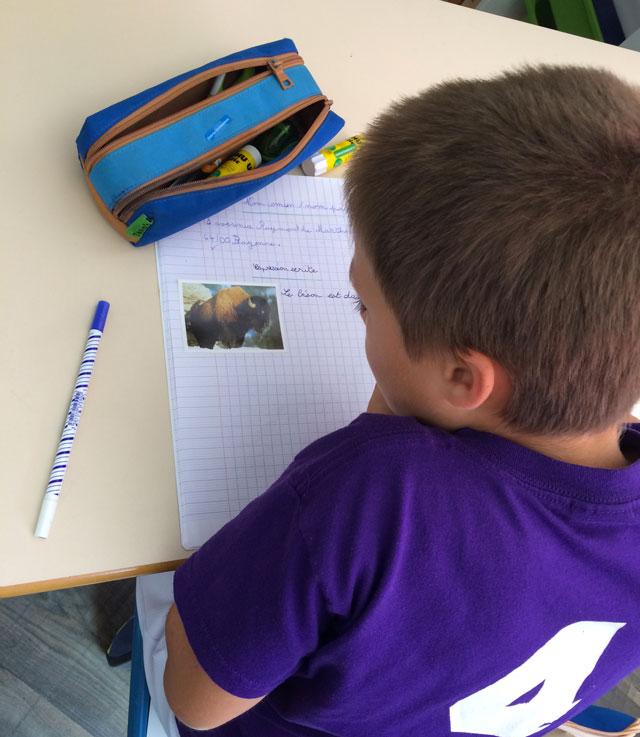 montessori international bordeaux primaire college expression écrite 3