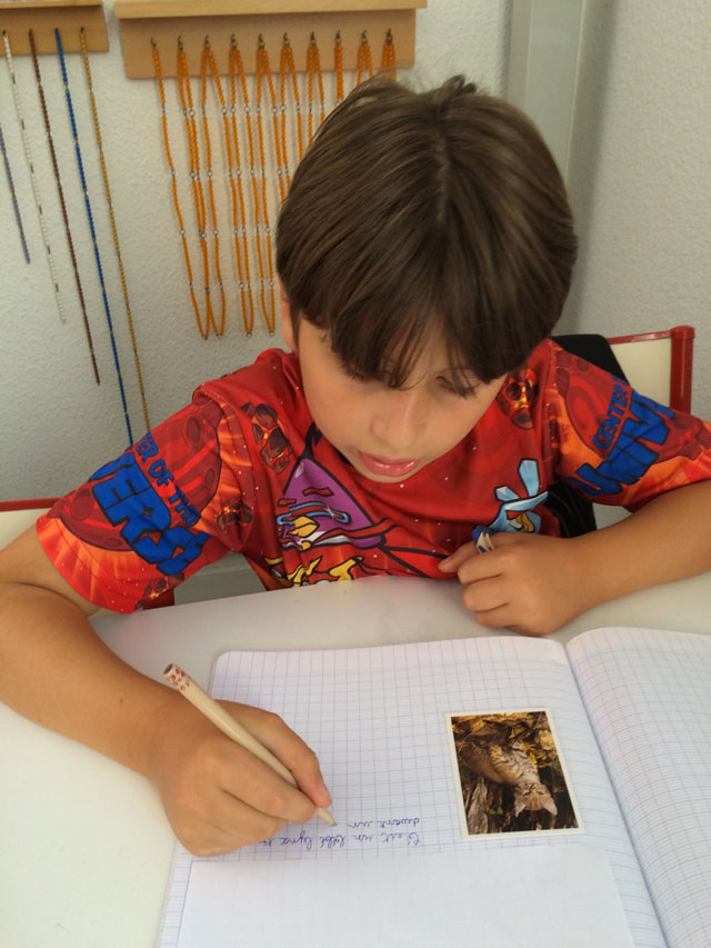 montessori international bordeaux primaire college expression écrite 4