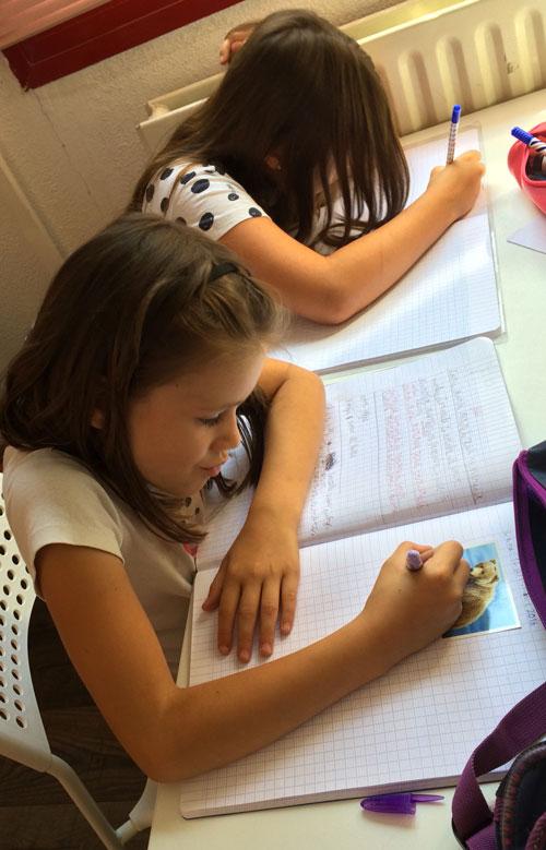 montessori international bordeaux primaire college expression écrite 5