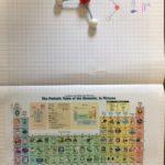 Montessori International Bordeaux : sciences, expérience en chimie. Table périodique