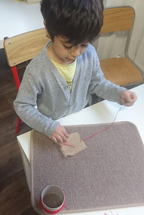 montessori international bordeaux couture tricot 2