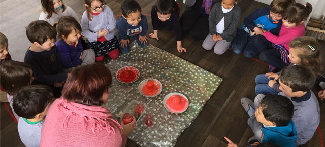 Etudier les volcans en maternelle