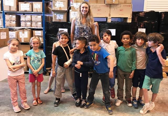 Montessori International Bordeaux - visite minaluxe - entrepôt et stockage
