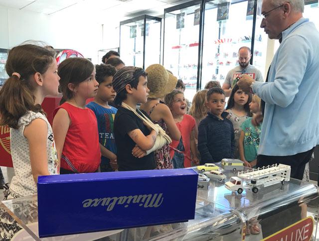 Montessori International Bordeaux - visite minaluxe - show room