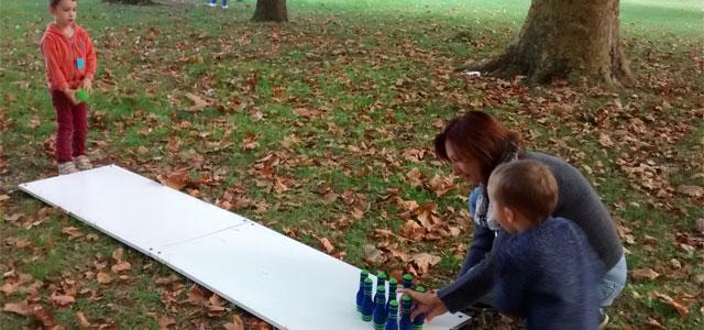 Sortie sportive pour la maternelle Montessori