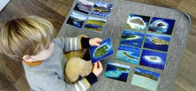 Les fonds marins en maternelle Montessori