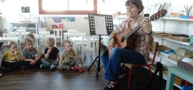 Passion musique à l'école Montessori