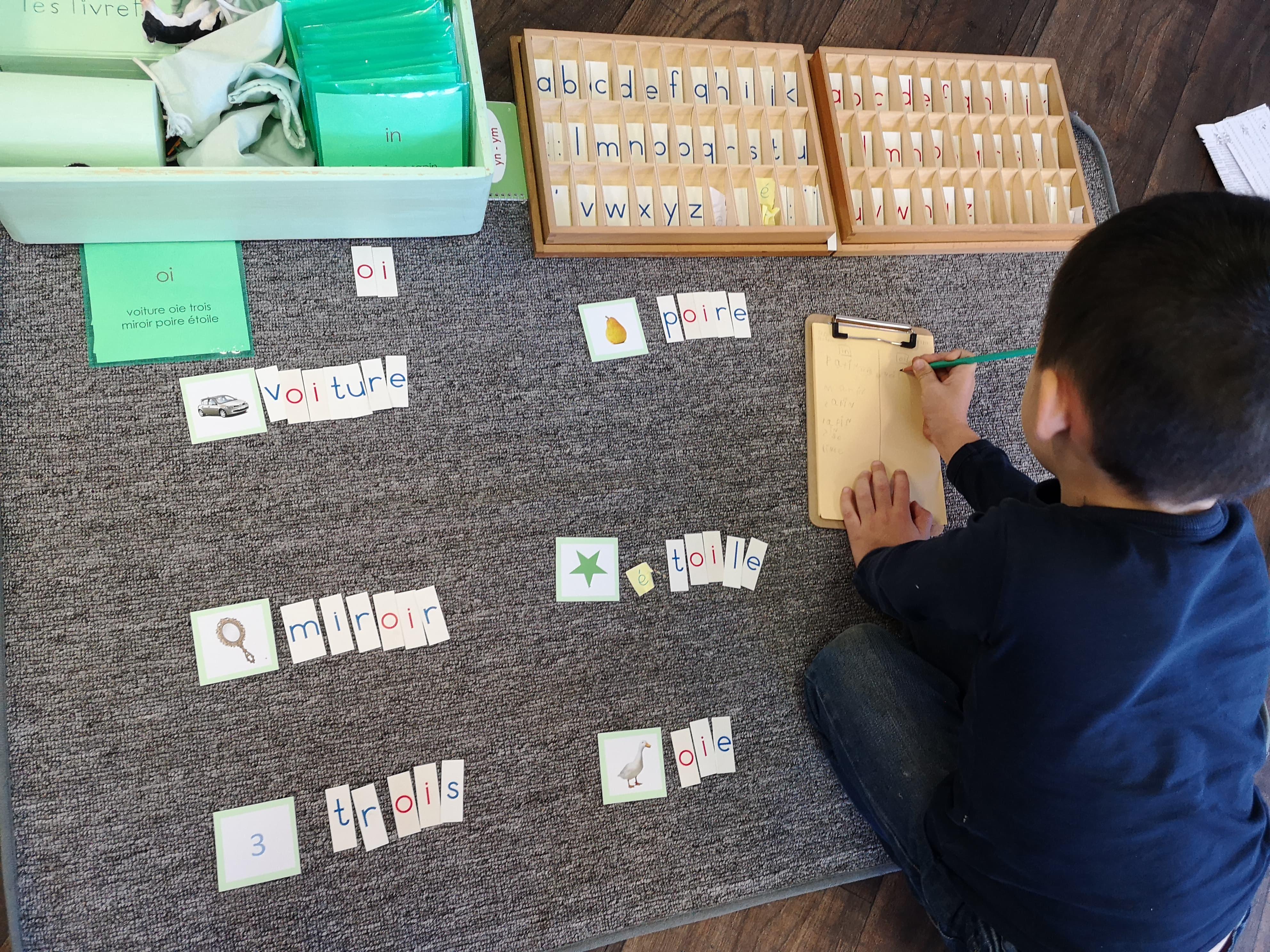 De l'apprentissage de la lecture à la grammaire en maternelle