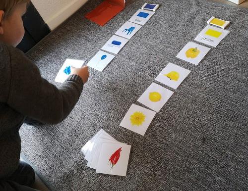 tri couleurs primaire montessori